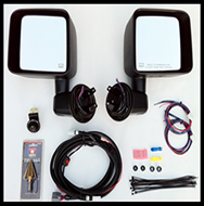 LJeep® JK Power & Heated Mirror Kit