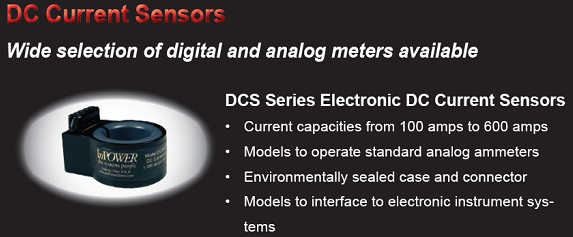 DC Current Sensors description and images